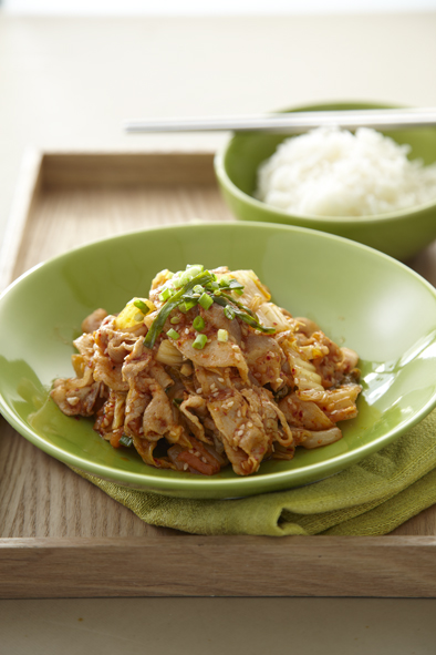 Stir – Fried Pork with Kimchi