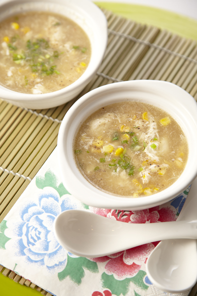 Sweet Corn and Crab Soup